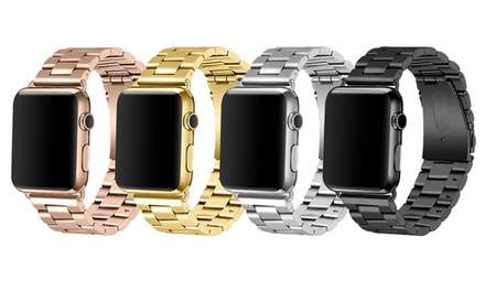 iPM Stainless Steel Band with TPU Case for Apple Watch for AED 69