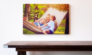 "Stretch and Staple: Custom 26""x18"" or 36""x24"" Gallery-Wrapped Canvas Print from Stretch and Staple"