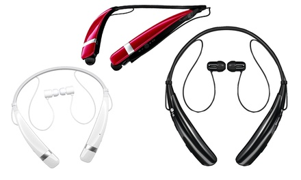 LG Tone Pro Wireless Stereo Bluetooth Headset (Refurbished)