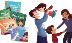 Story of my Name: 1, 2, 3 o 5 cuentos personalizados para niños desde 9,95 € con Story of my Name
