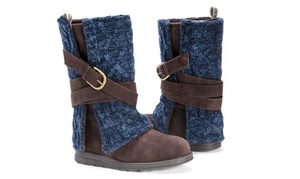 Muk Luks Women's Nikki or Nevia Boots (Sizes 6 & 7)