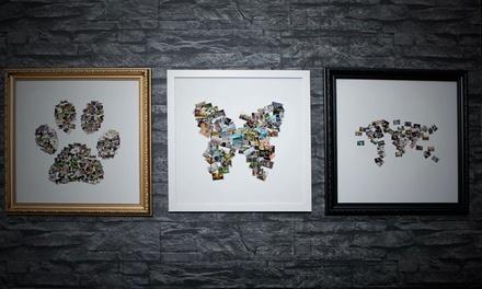 Persoonlijke fotocollage in lijst naar keuze bij Artf.ly