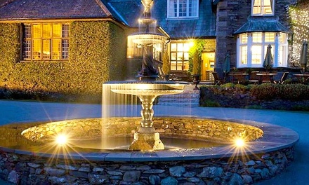 Lake District: 1 Night for Two with Breakfast, 4Course Dinner, Cream Tea and Spa Access at 5* Broadoaks Country House