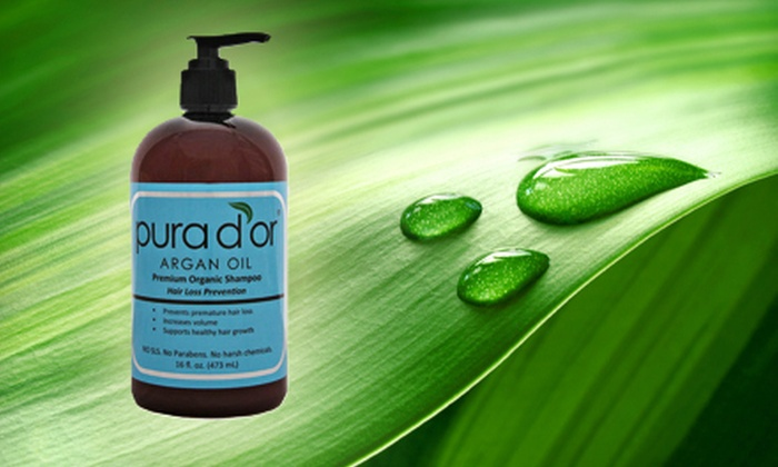 Pura D'or Hair-Loss-Prevention Shampoo: $19 for Pura D'or Premium Organic Hair-Loss-Prevention Shampoo with Shipping Included ($42 Total Value)