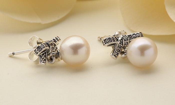 orecchini pandora con perle