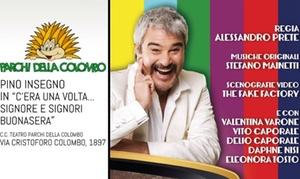 Pino Insegno e Luciano Lembo: Pino Insegno e Luciano Lembo l'8 e il 10 settembre all'Anfiteatro Parchi della Colombo a Roma (sconto 41%)
