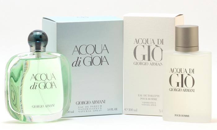 Armani Acqua Di Gio Or Gioia Groupon Goods