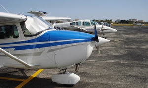 Learn to Fly Center: 90-Minute Discovery Flight Lesson with Ground School or Private Air Tour of South Florida at Learn to Fly Center (Up to 52% Off)