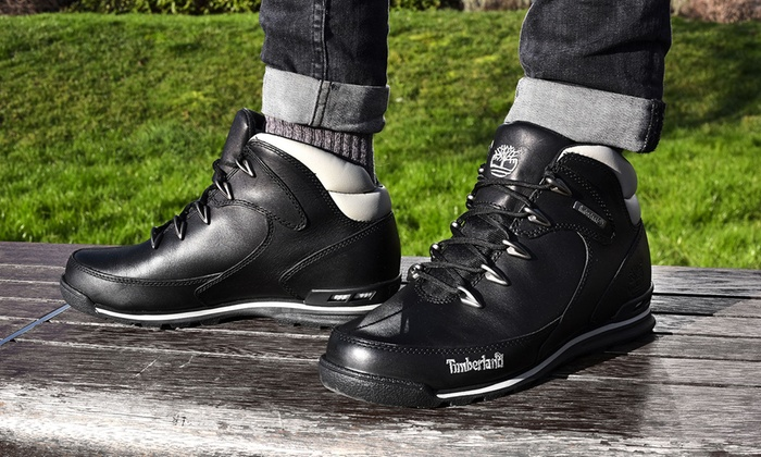 f97a8d3da00 Timberland Euro Rock Hiker Boots | Groupon