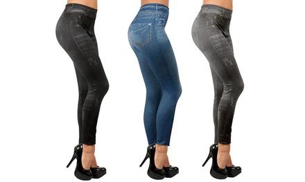 Pack de 3 leggings moldeadores para mujer