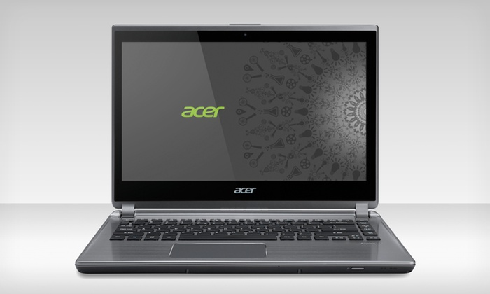 "Acer 14"" Laptop with 6GB RAM: Acer 14"" Laptop with 6GB RAM and a 20GB SSD (M5-481PT-6644) (Manufacturer Refurbished)"