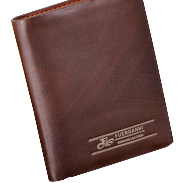 d46e385c46e7 Fuerdanni Men's Classic Genuine-Leather Wallet