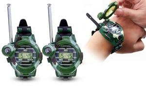 2 montres Talkie-Walkie Spy