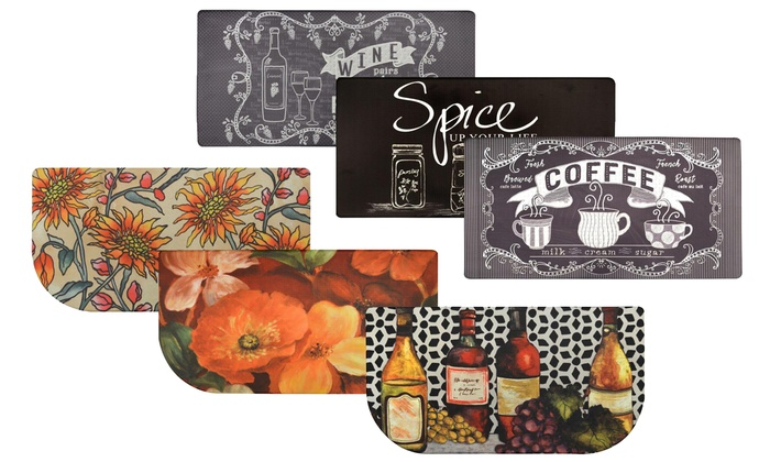 Beau Up To 54% Off On Nicole Miller Kitchen Mat | Groupon Goods
