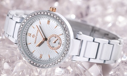 Timothy Stone ELLE Ceramic Collection Watch