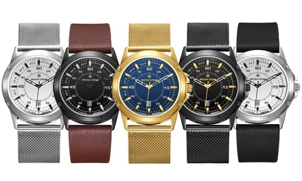 One or Two Timothy Stone Norse Men's Watches With Free Delivery