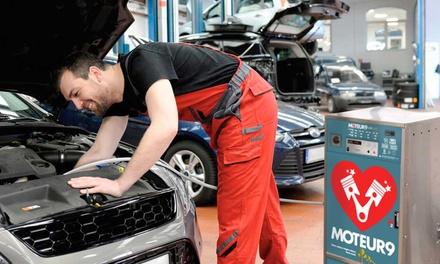 Rajeunissement et décalaminage du moteur jusqu'à 2 litres à 29,90 € au garage Espace Repar Auto