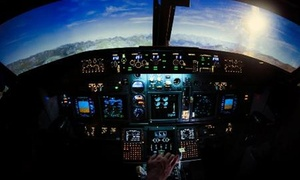 Dream Aero Abu Dhabi: 15- or 30-Minute Flight Simulator Experience for Up to Three at Dream Aero Abu Dhabi (Up to 27% Off)