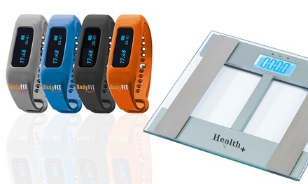 Electronic Body Fat Scales with Optional Fitness Tracker