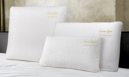 1, 2 ou 4 oreillers mémoire de forme Collector SAMPUR, taille au choix dès 19,90€ (jusqu'à 84% de réduction)