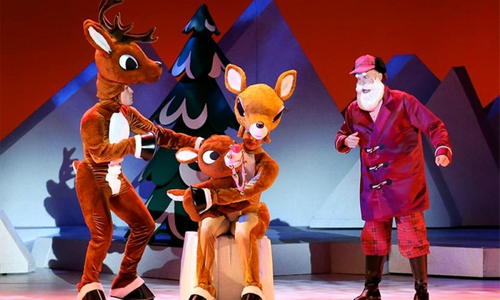 """""""Rudolph The Red-Nosed Reindeer: The Musical"""" - The Plaza Theatre Performing Arts Center: """"Rudolph the Red-Nosed Reindeer: The Musical"""" on December 8-9 at 7 p.m."""