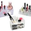 Home Basics Acrylic Cosmetic Storage Organizer Display Set