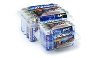 48-Pack ACDelco Maximum Power Alkaline AA and AAA Batteries (24 AA and 24 AAA)