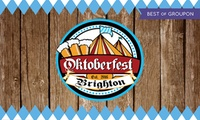 Oktoberfest Brighton, Early Bird or Standard, Standing or Unreserved Seating Ticket, 13 and 14 October