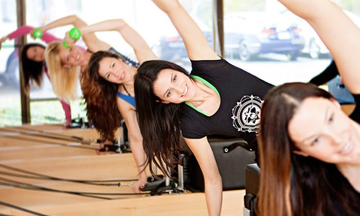 Club Pilates - Multiple Locations: Eight Pilates Classes at Club Pilates (Up to $126 Value)