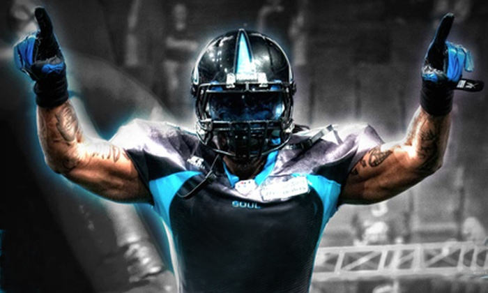 Philadelphia Soul - Wells Fargo Center: $30 for a Philadelphia Soul Playoff Game Package for One at Wells Fargo Center on August 3 ($75.95 Value)