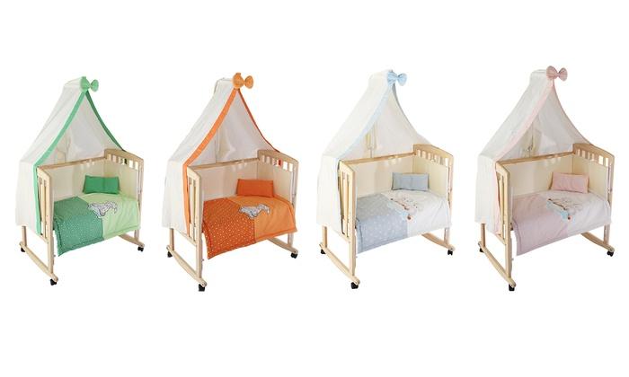 3 in 1 babywiege groupon goods. Black Bedroom Furniture Sets. Home Design Ideas