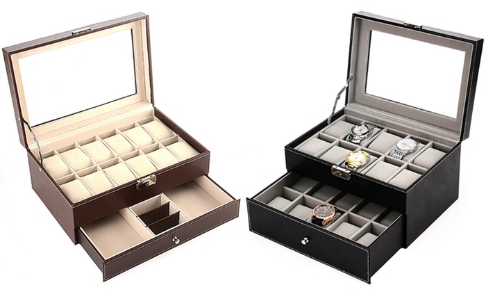 Mushaa: Watch and Jewellery Case from AED 119 (Up to 66% Off)