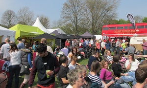 LOVE FOOD MAPLEDURHAM FOOD & CRAFT FESTIVAL: Great Missenden Food Festival: Two Adult Day Tickets, 27 - 29 August