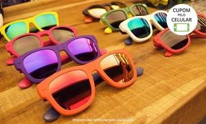 Óticas Carol - Curitiba: Óticas Carol - 3 unidades: óculos solares Havaianas com lente solar comum ou espelhada