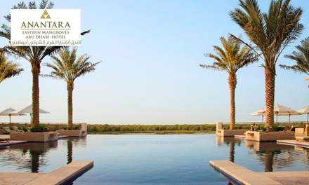Abu Dhabi: One Night Stay for Two with Breakfast at 5* Anantara Eastern Mangroves Hotel & Spa