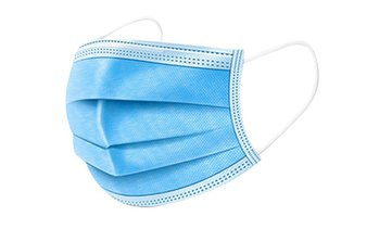 Non-Medical Disposable 3-Ply Face Masks (50-Pack)