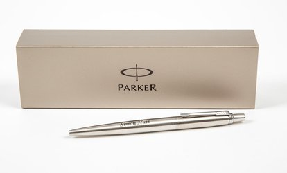 image for Personalised Parker Pen from Print My Photo (64% Off)