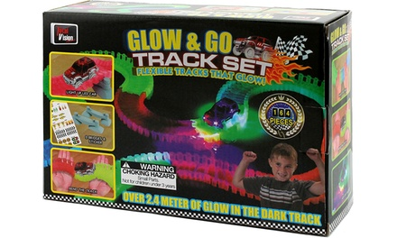 164-Piece Glow and Go Track Set: One ($17) or Two ($29)
