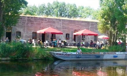 Barbecue voor 2 tot 6 personen bij het historische Fort Zuid in Spaarndam