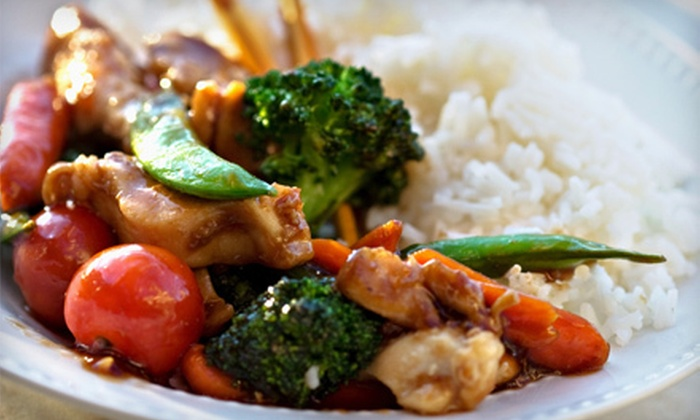 Wild Rice Pan Asian Cuisine - King of Prussia: $15 for $30 Worth of Sushi and Pan-Asian Cuisine for Dinner at Wild Rice Pan-Asian Restaurant in King of Prussia