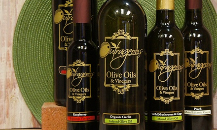 Extra-Virgin Olive Oil or Traditional Balsamic Vinegar from Outrageous Olive Oils and Vinegars (44% Off)