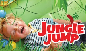 Jungle Jump Days: Entrée, 2 boissons, paquet de chips ou bonbons et un gadget Jungle Jump chez Jungle Jump Days