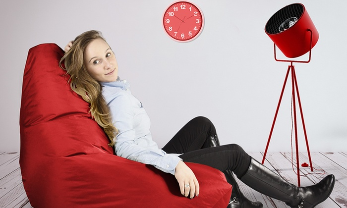 Groupon Goods Global GmbH: Highback Beanbag with Optional Footstool