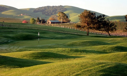 Two Rounds of Golf with Cart and Range Balls at Chardonnay Golf Club (Up to 50% Off). Two Options Available.