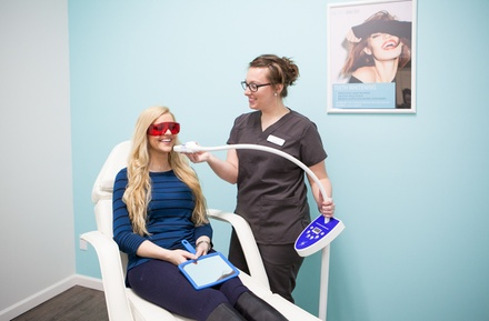 $82 for an In-Office Teeth-Whitening Treatment at BodyBrite ($129Value)
