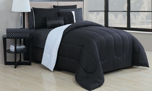 Reversible Bed-in-a-Bag Comforter Set (9-Piece) at Reversible Bed-in-a-Bag Comforter Set (9-Piece), plus 6.0% Cash Back from Ebates.