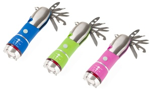 Stalwart 12-in-1 Emergency Safety Multi-Tool and LED Flashlight