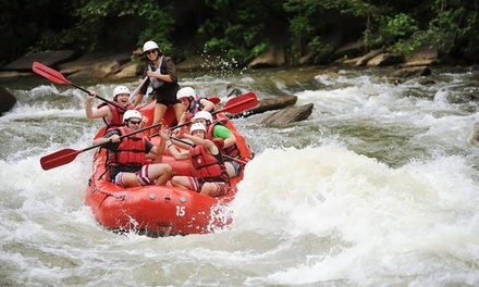 $55 for a Whitewater-Rafting Adventure for Two from Big Frog Expeditions ($90 Value)