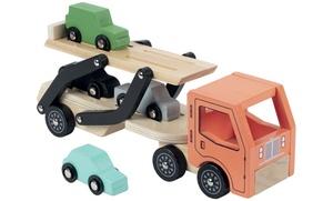Convoyeur et voitures en bois WDK Partner