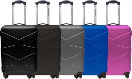 1 o 2 trolley da cabina Gian Marco Venturi in ABS con lucchetto TSA, disponibili in 5 colori